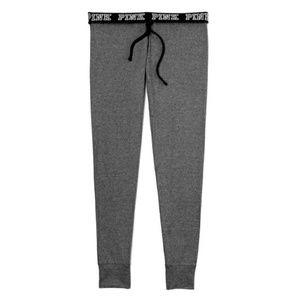 VS PINK grey ultimate joggers